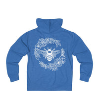BEE KIND Save the Bees Unisex French Terry Zip Hoodie