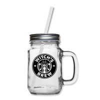 Witch's Brew Mason Jar - clear