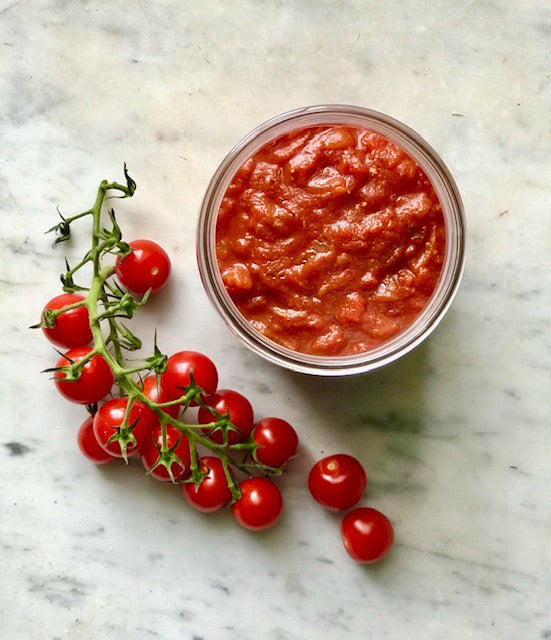 Robyn Bach Cooks Recipe #6: Homemade Tomato Sauce - two ways.