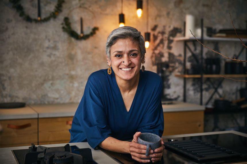 Chetna Makan: baking, home cooking and how to start a supper club.