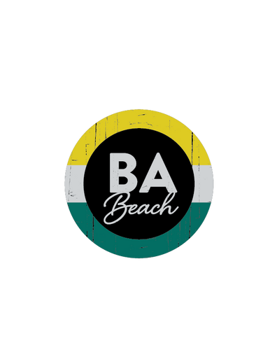 BA Beach Sticker