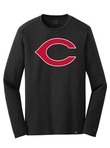 Unisex Big C Long Sleeve Tee