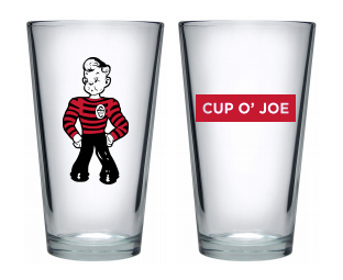 Joe Pint Glass
