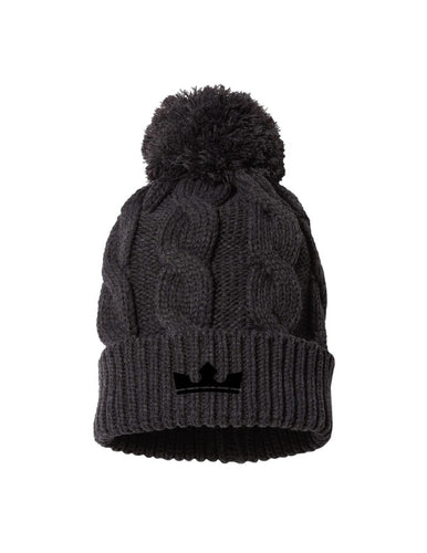 Crown Cable Beanie