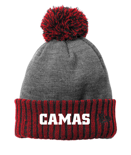 Colorblock Cuffed Camas Beanie