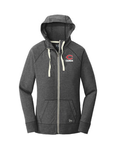 Women's Sueded Cotton Zip Hoodie