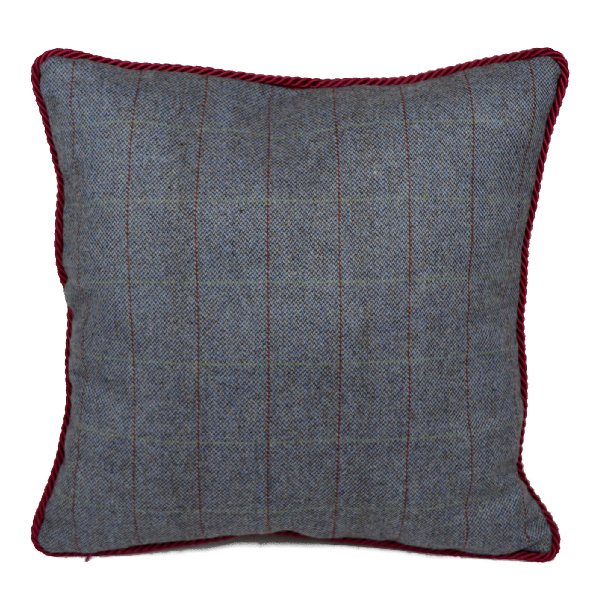 "'Home...', Irish Tweed Cushion, 16"" x 16"""