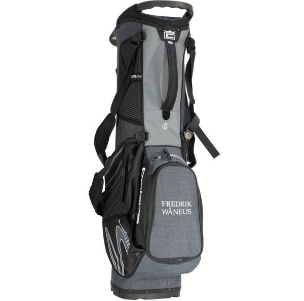 Cobra Ultralight Stand Bag med namn (Black Shadow)