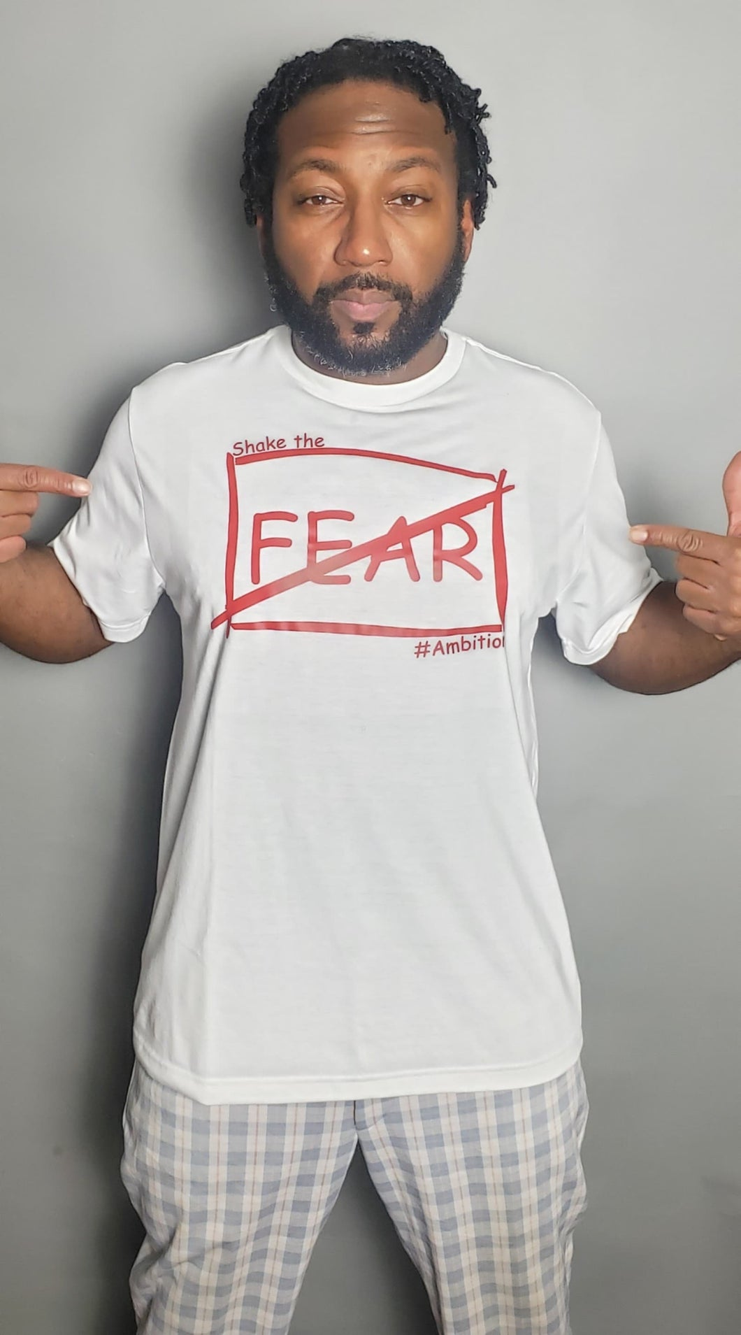 Original Shake the Fear Tee- White