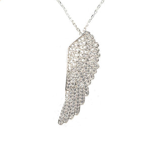 Large Angel Wing Necklace