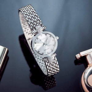 Facet Strass Swiss Ladies Watch J5.636.S