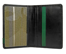 Hidesign Dylan Leather Slim Card Holder With ID Compartment