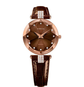 Facet Strass Swiss Ladies Watch J5.625.M