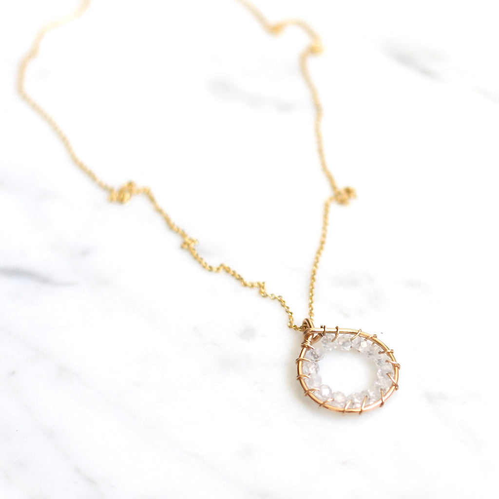 Forever Necklace - Amelia Lawrence Jewelry