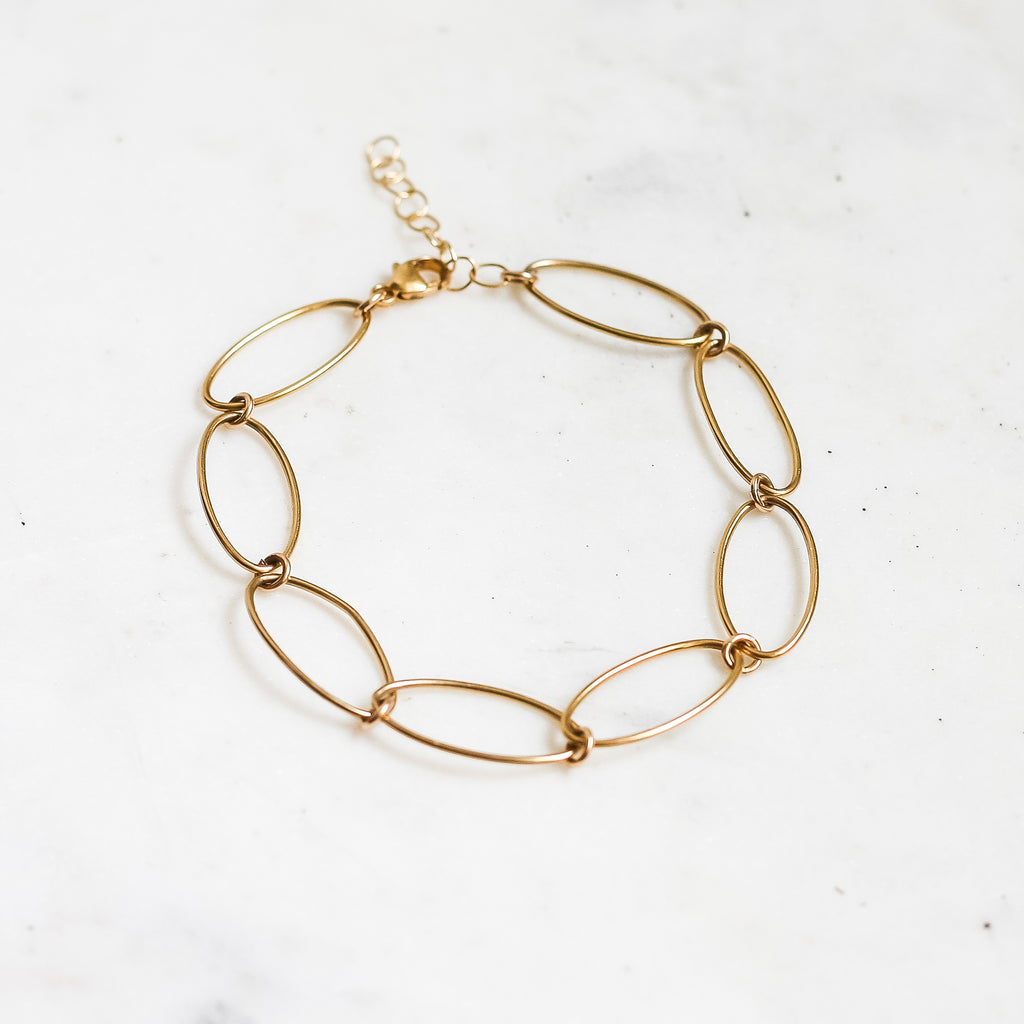 Double Time Bracelet - Small Links - Amelia Lawrence Jewelry