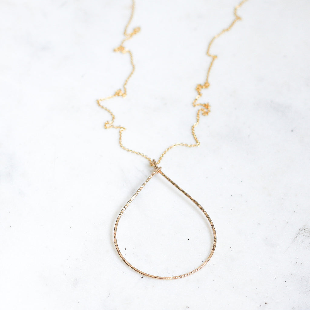 Rebecca Long Necklace - Oval - Amelia Lawrence Jewelry