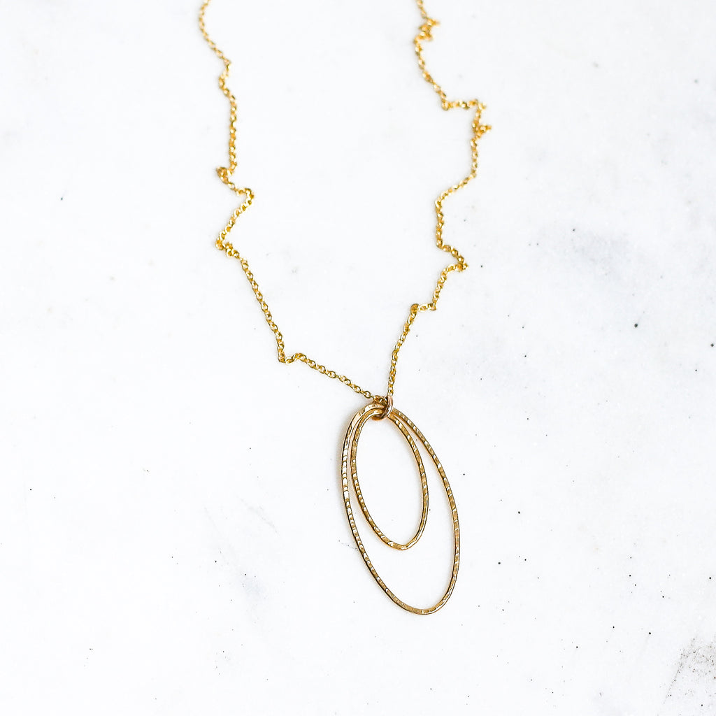 Double Time Necklace - Amelia Lawrence Jewelry
