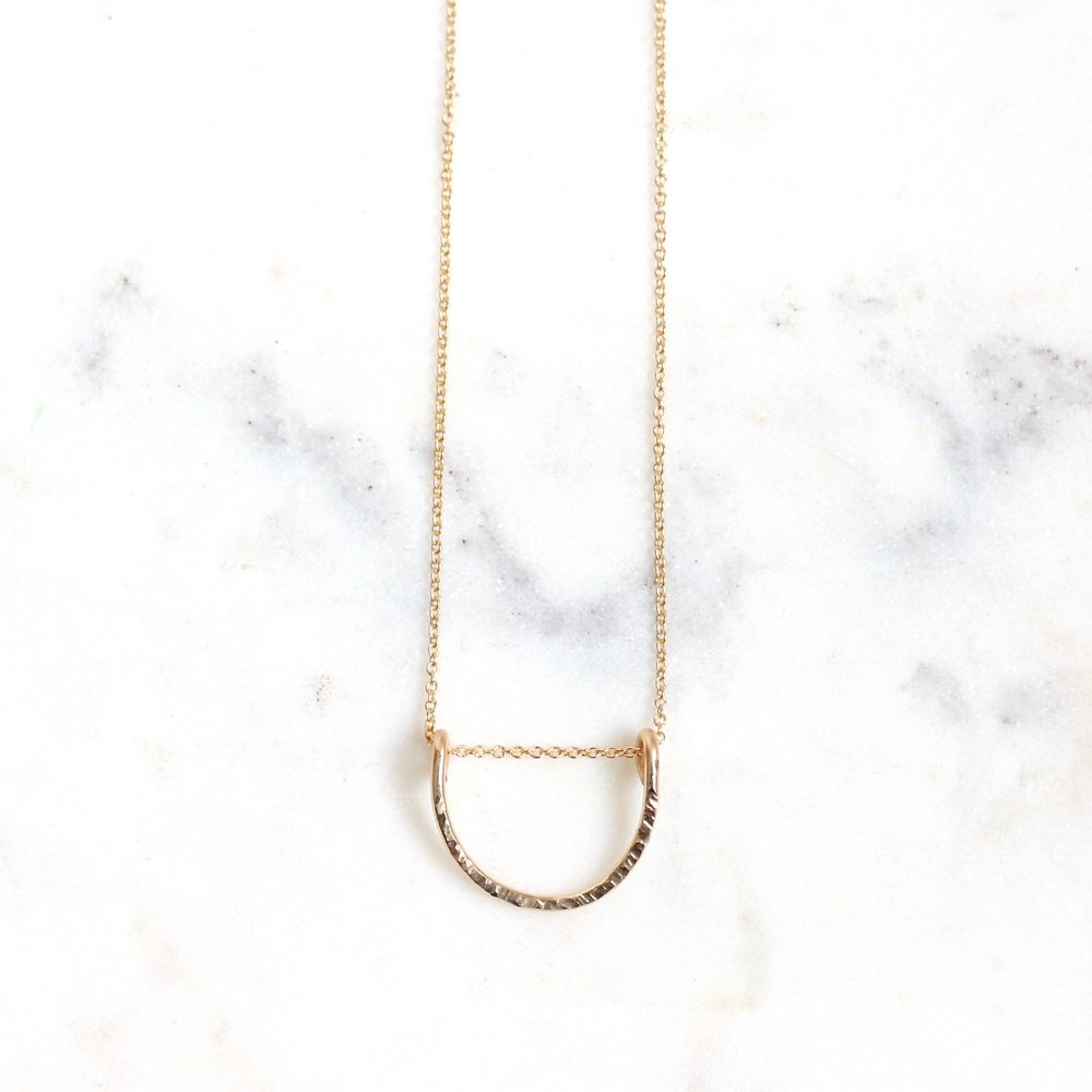 Leyanah Arch Necklace - Medium - Amelia Lawrence Jewelry