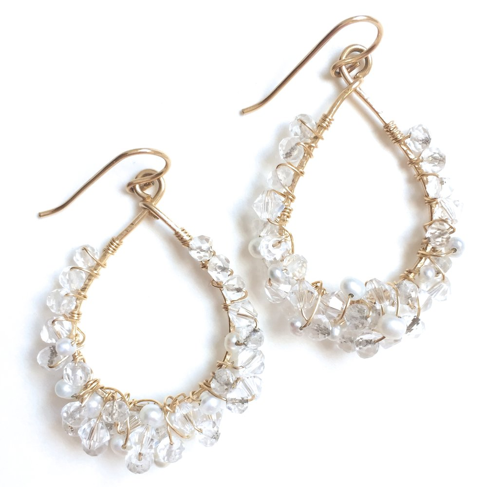 Chandelier Earrings - Amelia Lawrence Jewelry