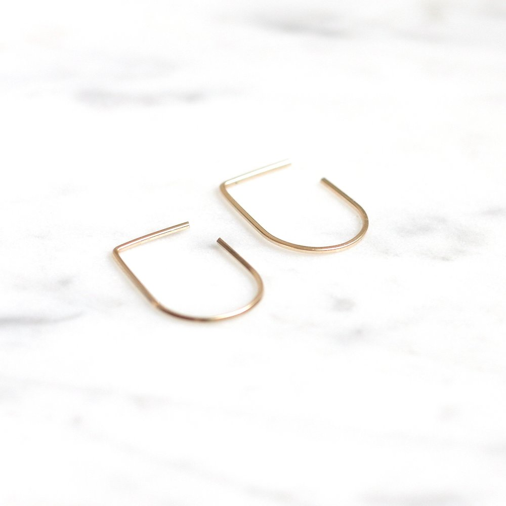 Bow Earrings - Small - Amelia Lawrence Jewelry