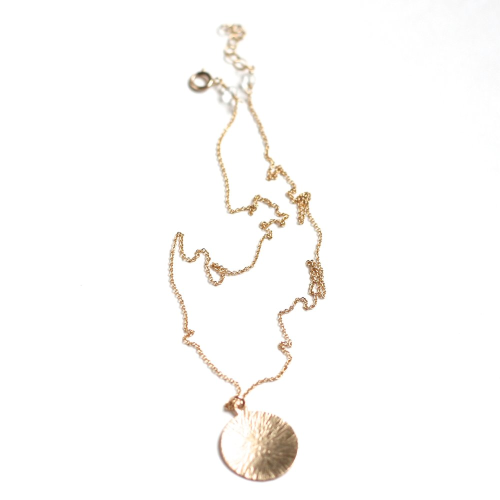 Kimberly Necklace - Circle WS - Amelia Lawrence Jewelry