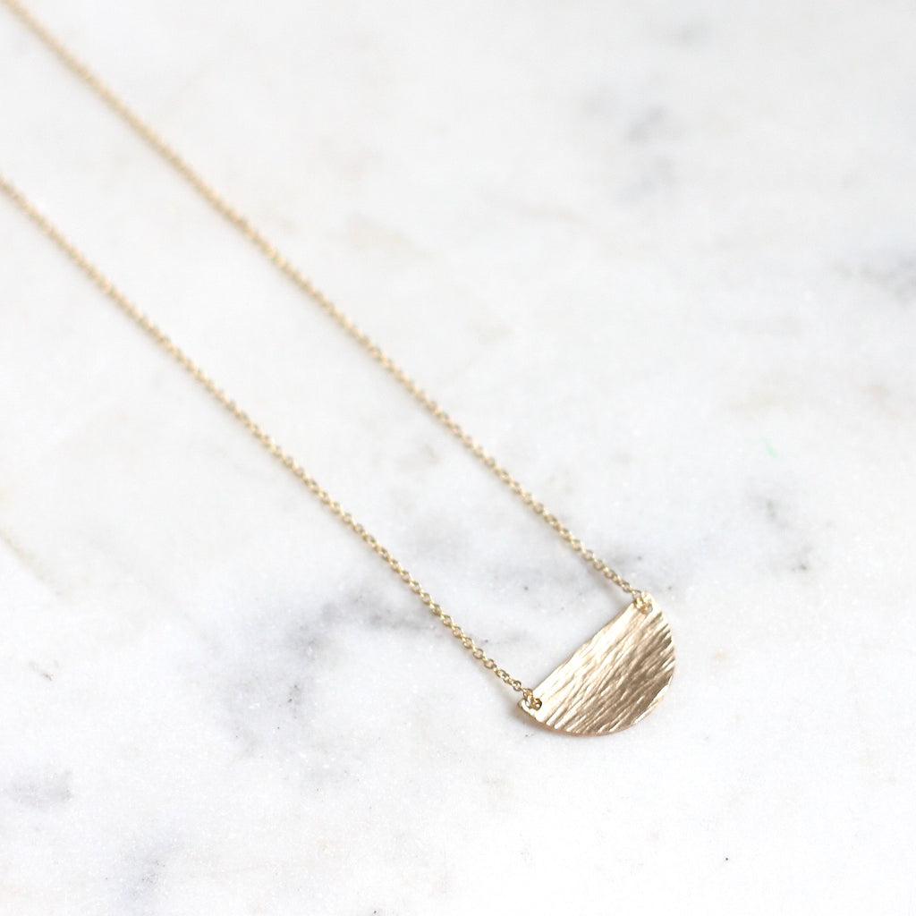 Crescent Necklace - Amelia Lawrence Jewelry