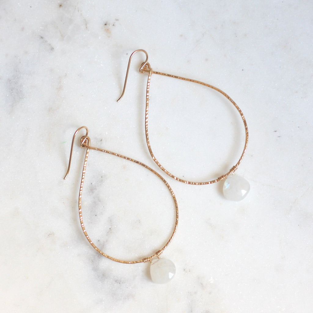 Patricia Hoops - Moonstone - Amelia Lawrence Jewelry