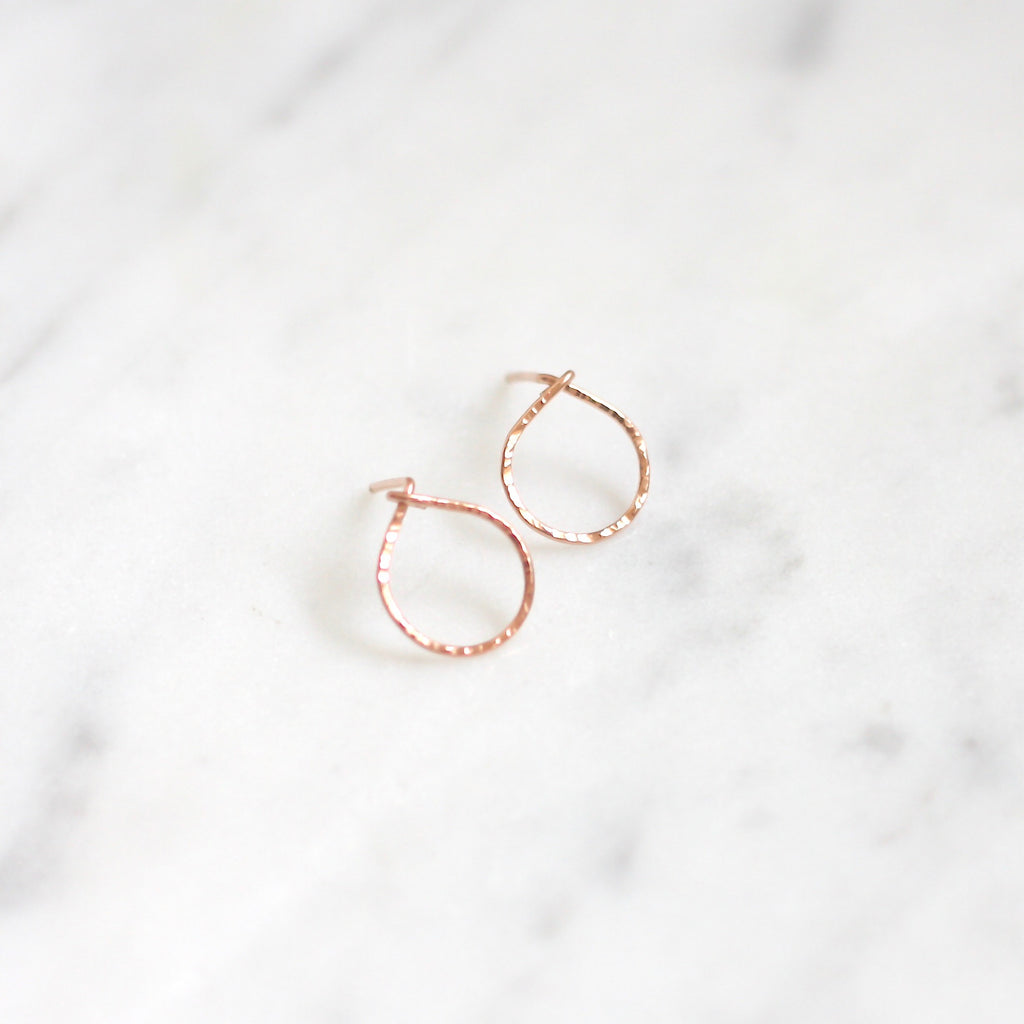 Pixie Posts - Circle - Amelia Lawrence Jewelry