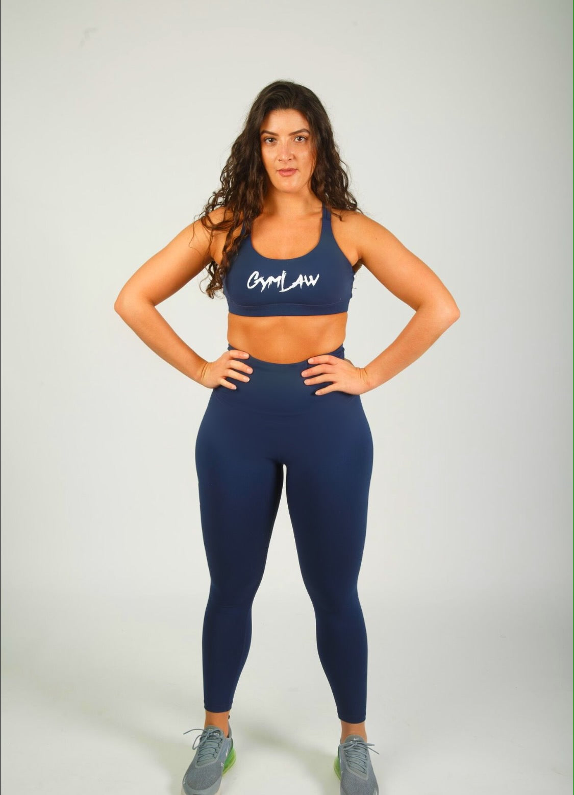 Visionary Midnight Navy Sports Bra