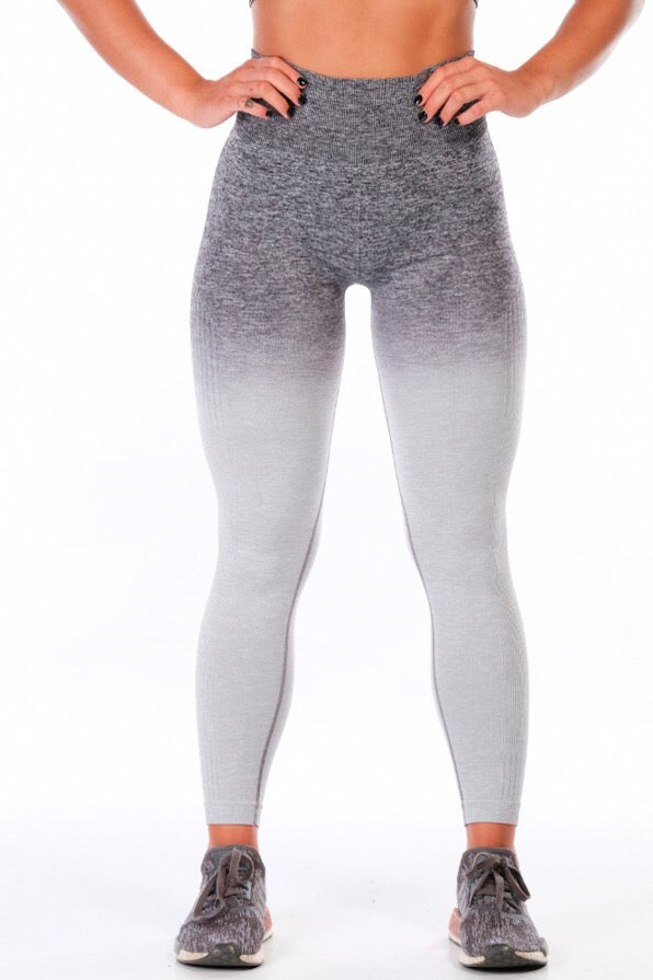 Grey Ombré Leggings