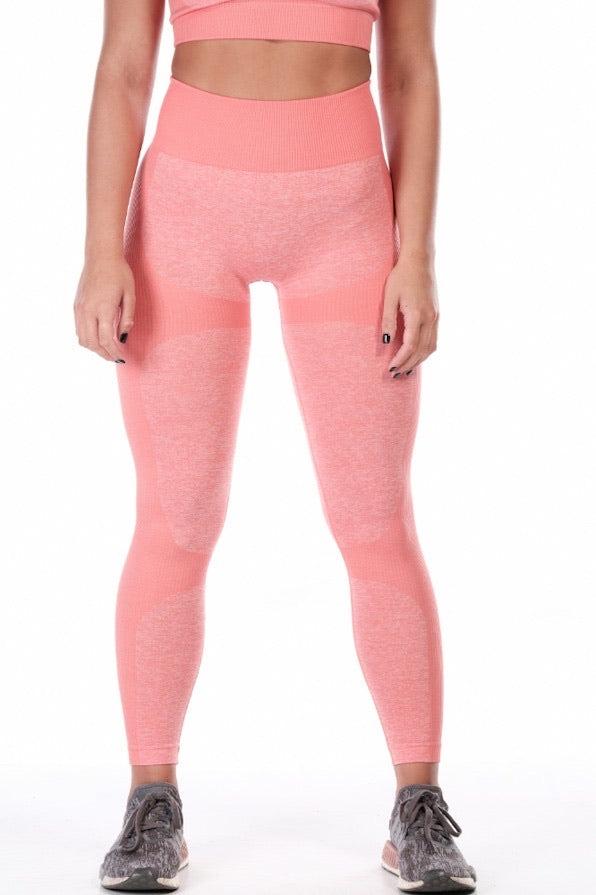 Coral Big Logo Ranger Leggings