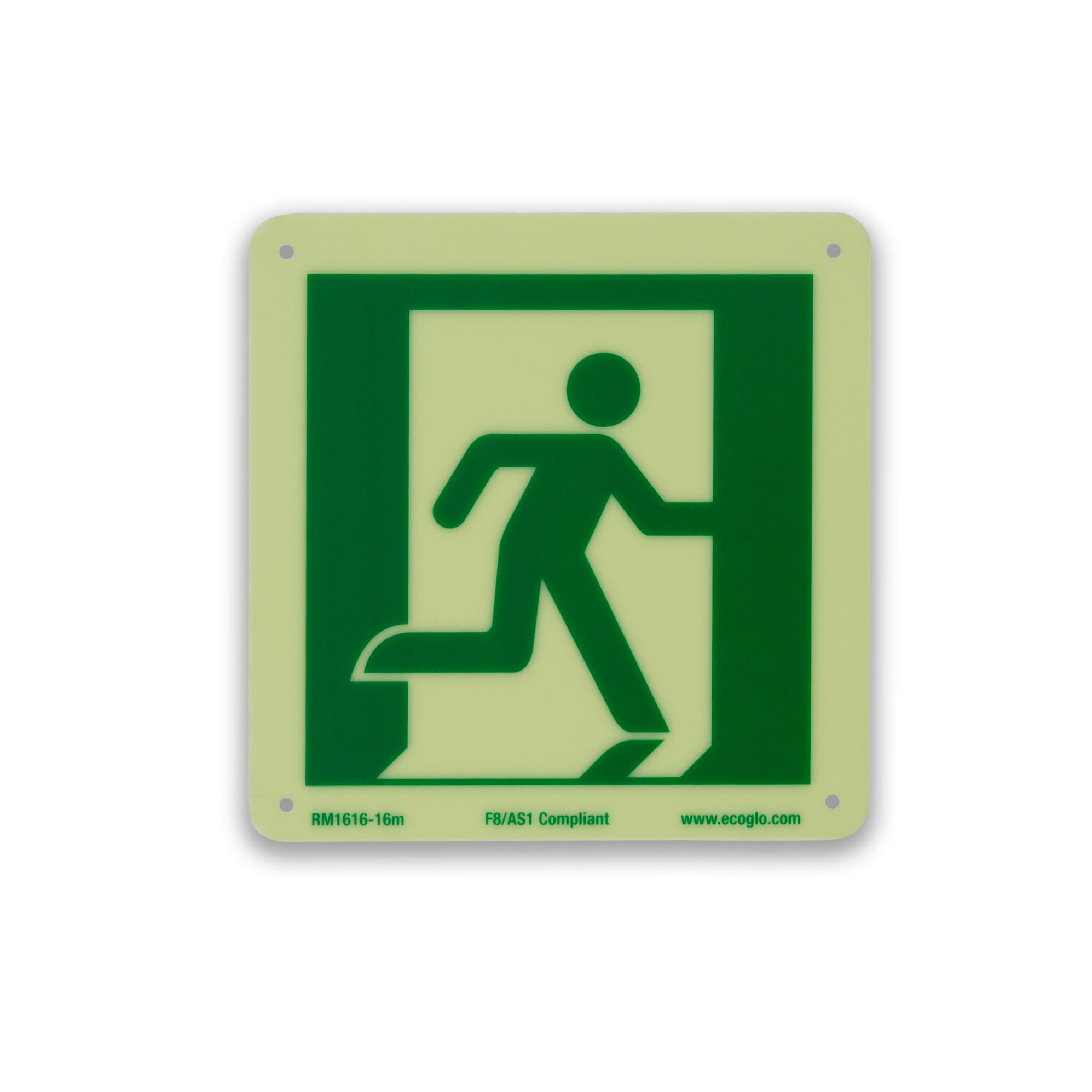 Ecoglo Exit Sign - Pictogram Centre
