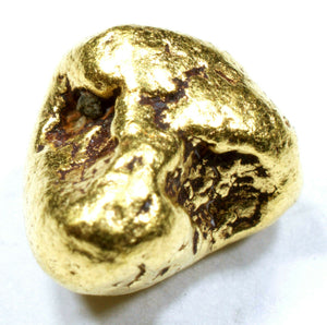 1.912 GRAMS ALASKAN YUKON BC NATURAL PURE GOLD NUGGET GENUINE (#N504) - Liquidbullion