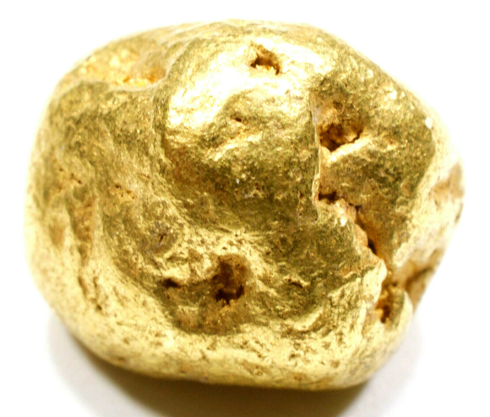 3.422 GRAMS ALASKAN YUKON BC NATURAL PURE GOLD NUGGET GENUINE (#N604) C GRADE - Liquidbullion