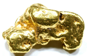 3.571 GRAMS ALASKAN NATURAL PURE GOLD NUGGET GENUINE (#N801) - Liquidbullion