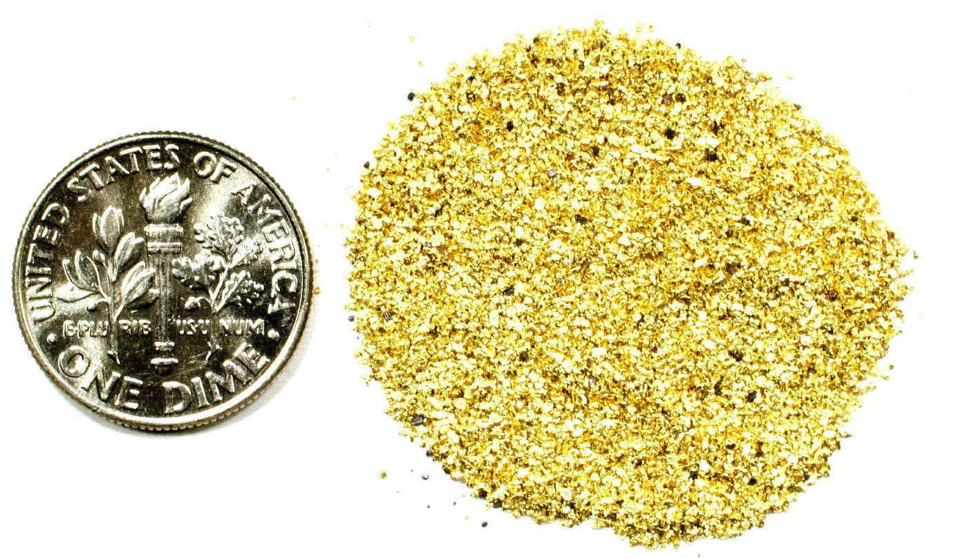 2.000 GRAMS ALASKAN YUKON BC NATURAL PURE GOLD NUGGETS #50 MESH - Liquidbullion
