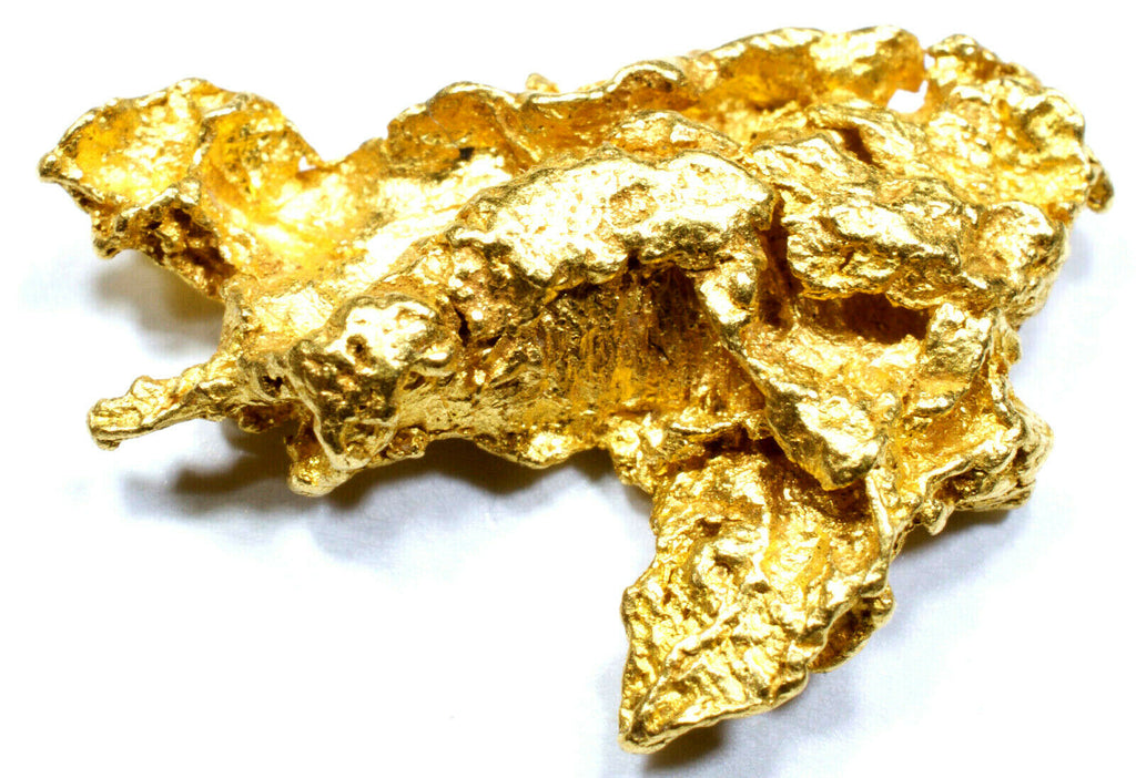 2.572 GRAMS AUSTRALIAN NATURAL PURE GOLD NUGGET GENUINE 94-98% PURE (#AU601) - Liquidbullion