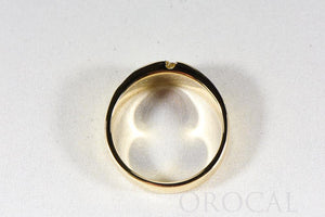 "Gold Quartz Ring ""Orocal"" RMDL58SD9NQ Genuine Hand Crafted Jewelry - 14K Gold Casting - Liquidbullion"