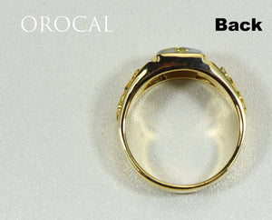 "Gold Quartz Ring ""Orocal"" RLL1075NQ Genuine Hand Crafted Jewelry - 14K Gold Casting - Liquidbullion"