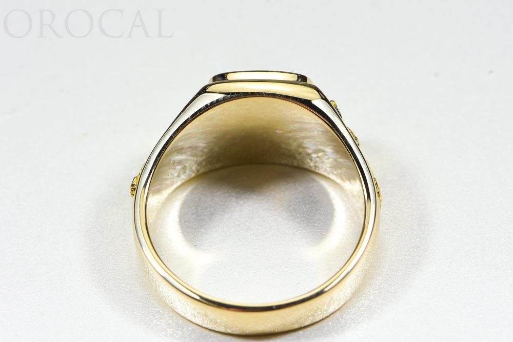 "Gold Quartz Ring ""Orocal"" RM774NQ Genuine Hand Crafted Jewelry - 14K Gold Casting - Liquidbullion"