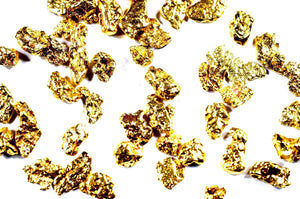 0.180+ GRAMS ALASKAN YUKON BC NATURAL PURE GOLD NUGGET HAND PICKED - Liquidbullion
