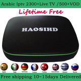 2018 Best IPTV Arabic box,HAOSIHD arabic channels ,free lifetime subscription 2800+channels
