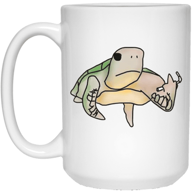 Pete The Pissed Off Turtle Coffee Mug
