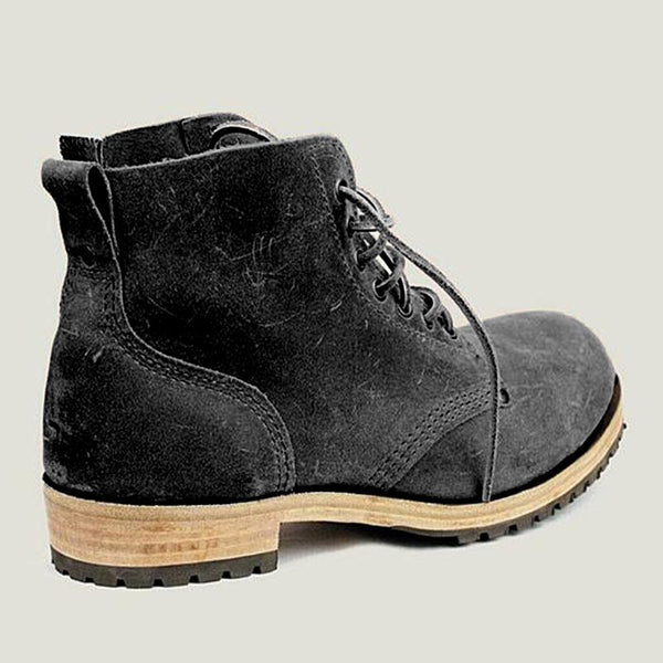 Men's Suede Leather  Martin Boots