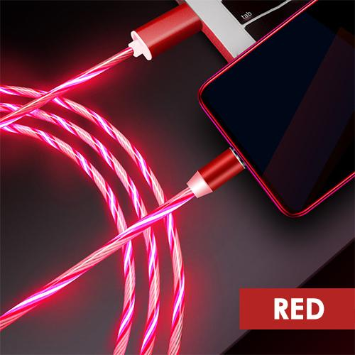 Lumivox™ - Cross-Device LED Charging Cable (3 in 1) - Randomella