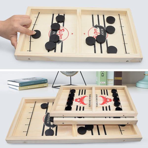 Fast Sling Puck Game Super Winner Board Game - Randomella