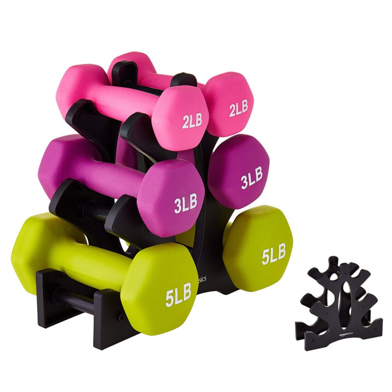 Dumbbell Bracket Triangle Home Stand