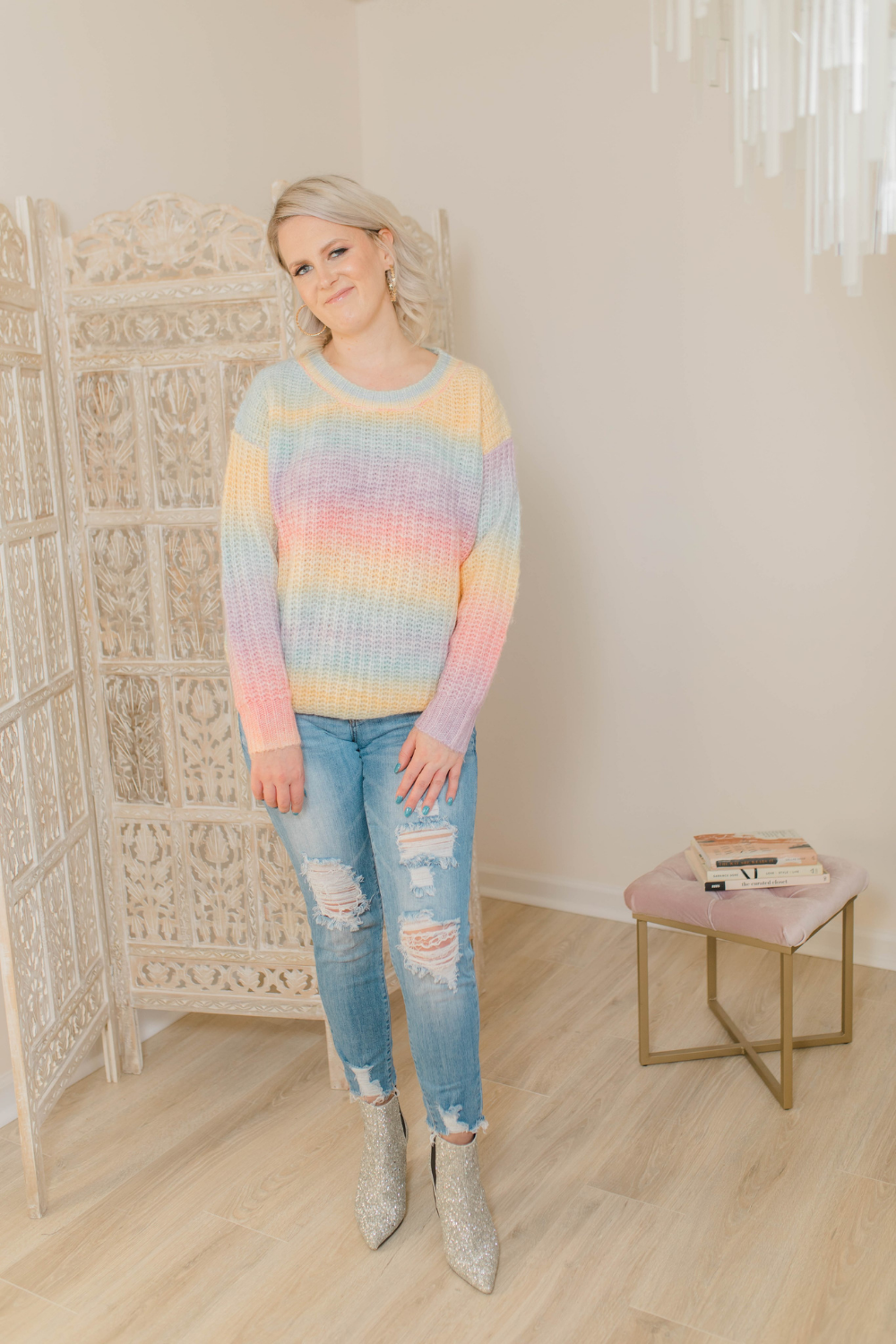 PASTEL PRINCESS SWEATER