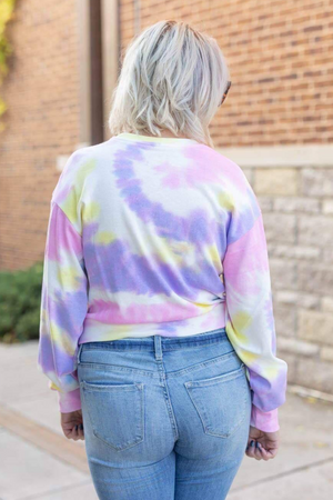 STITCHED IN TIE DYE