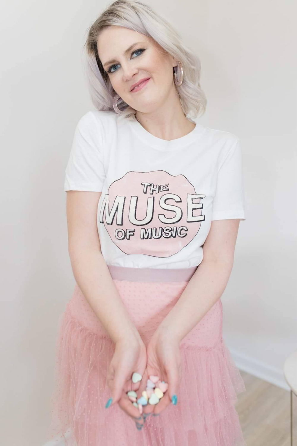 THE MUSE OF MUSIC TEE